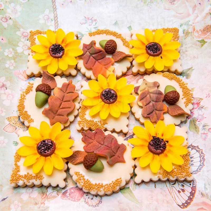 Candy Bar Floarea soarelui toamna
