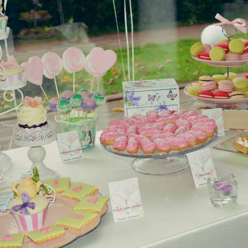 Candy Bar botez Fluturi