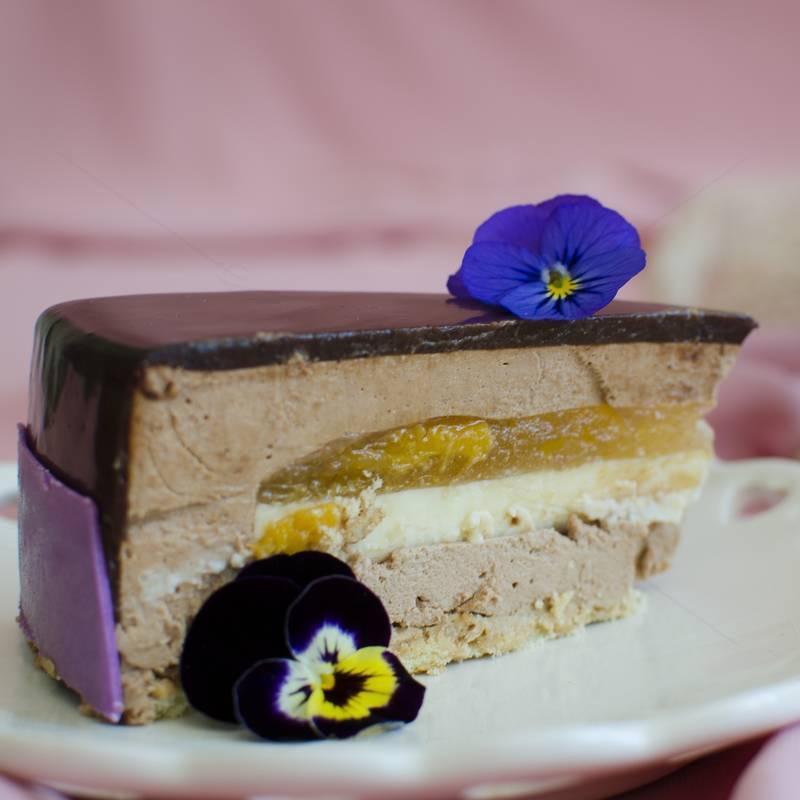 Tort Bergamot Mousse