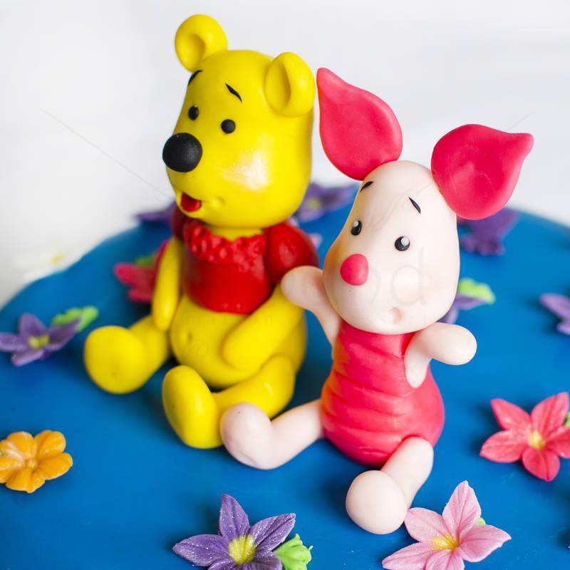 Tort Winnie de plush