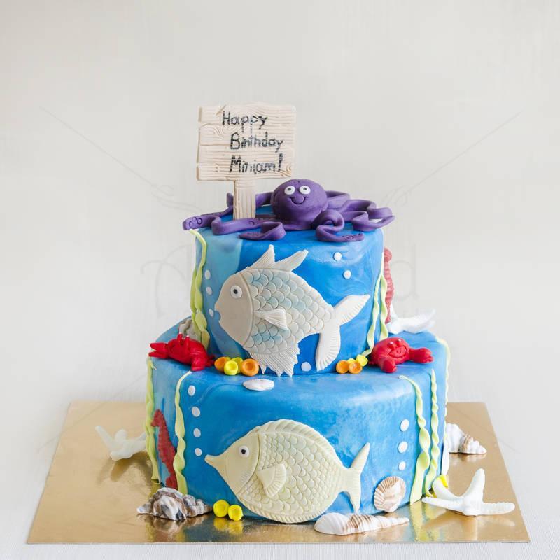 Tort Caracatita si pestisori