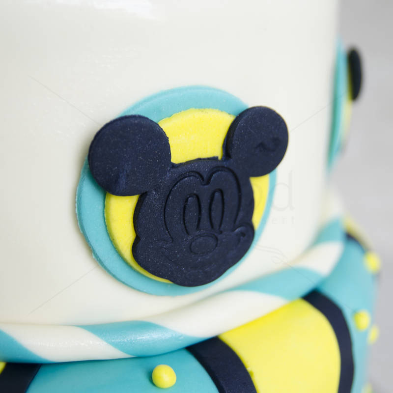 Tort Mickey Mouse turquoise