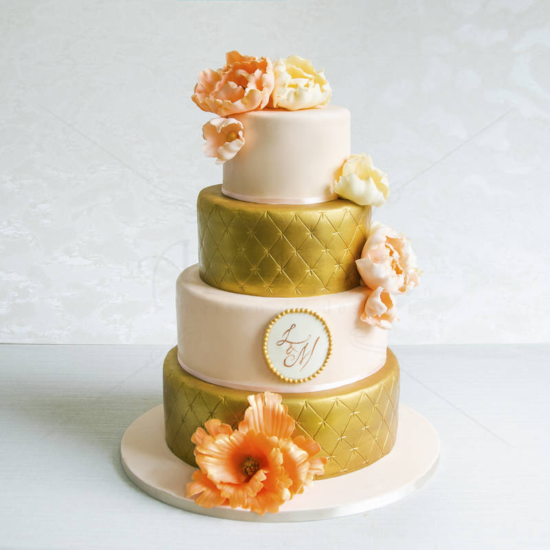 Tort Auriu-somon elegant
