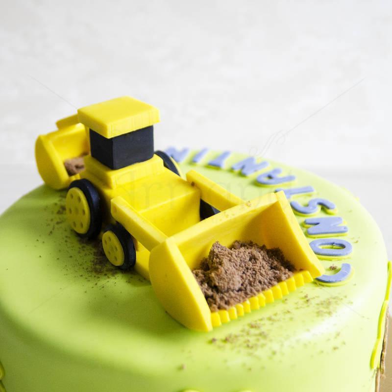 Tort Figurina Excavator