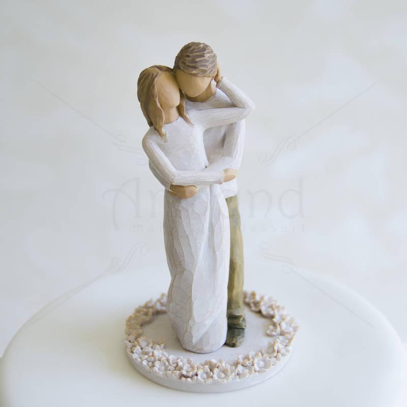 Tort de nunta Figurine de lemn