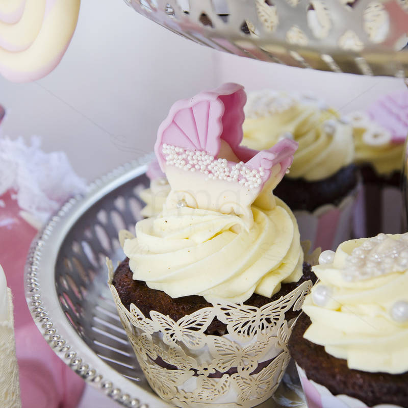 Candy Bar botez fetita Roz pastel