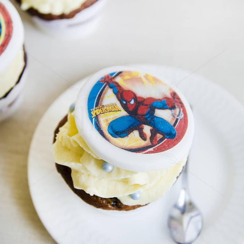Cupcake Spiderman 2