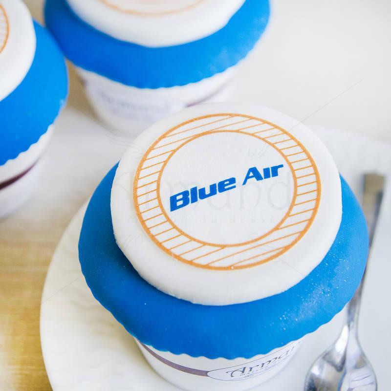 Cupcake Blue Air albastru