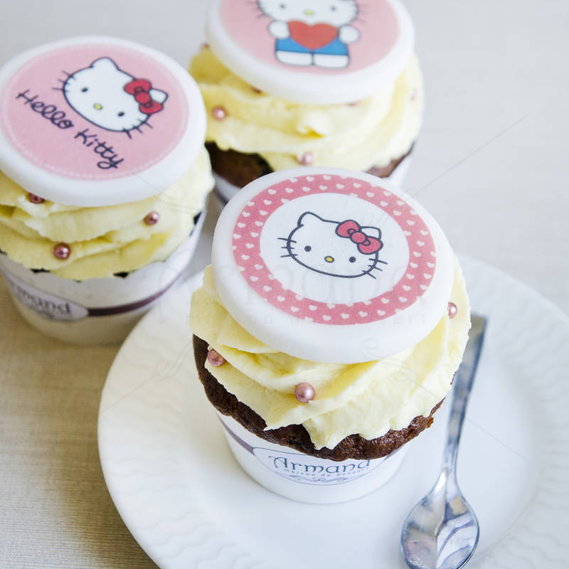 Cupcake Hello Kitty