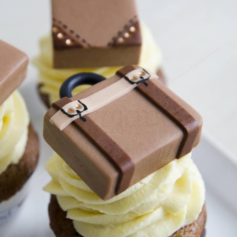 Cupcake Valize Vintage