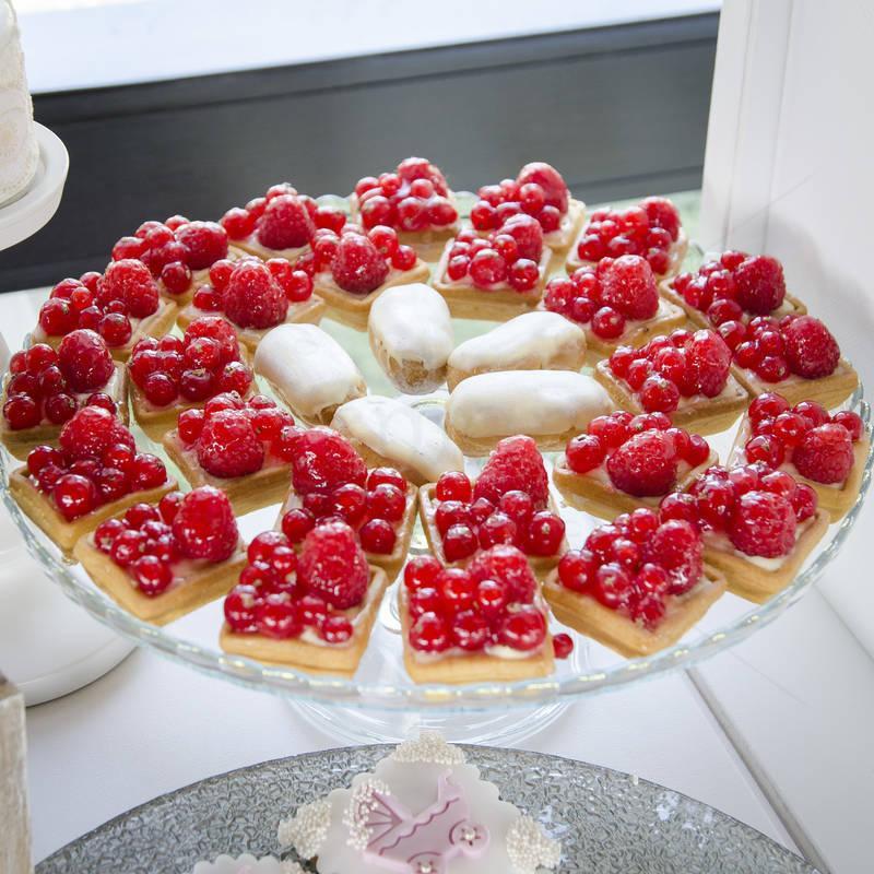 Mini Tarte fructe de padure