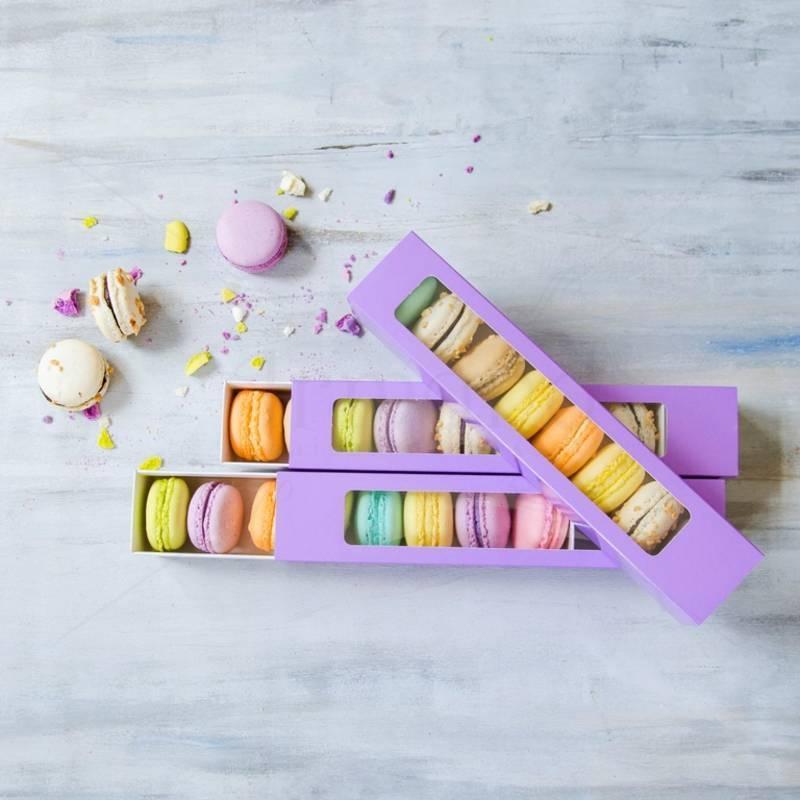 Cutie mov 8 Macarons