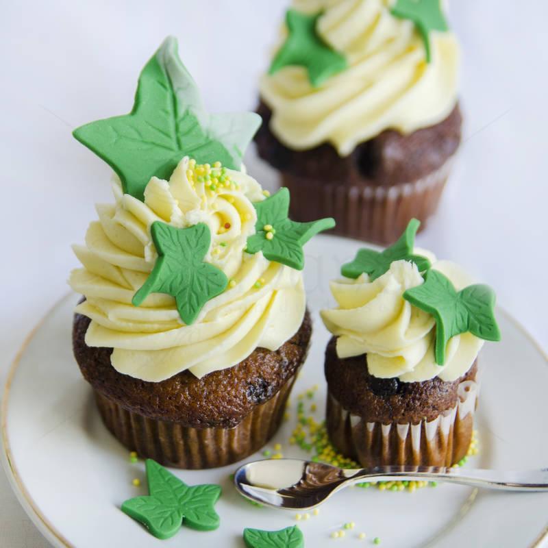 Cupcake Frunze de Iedera