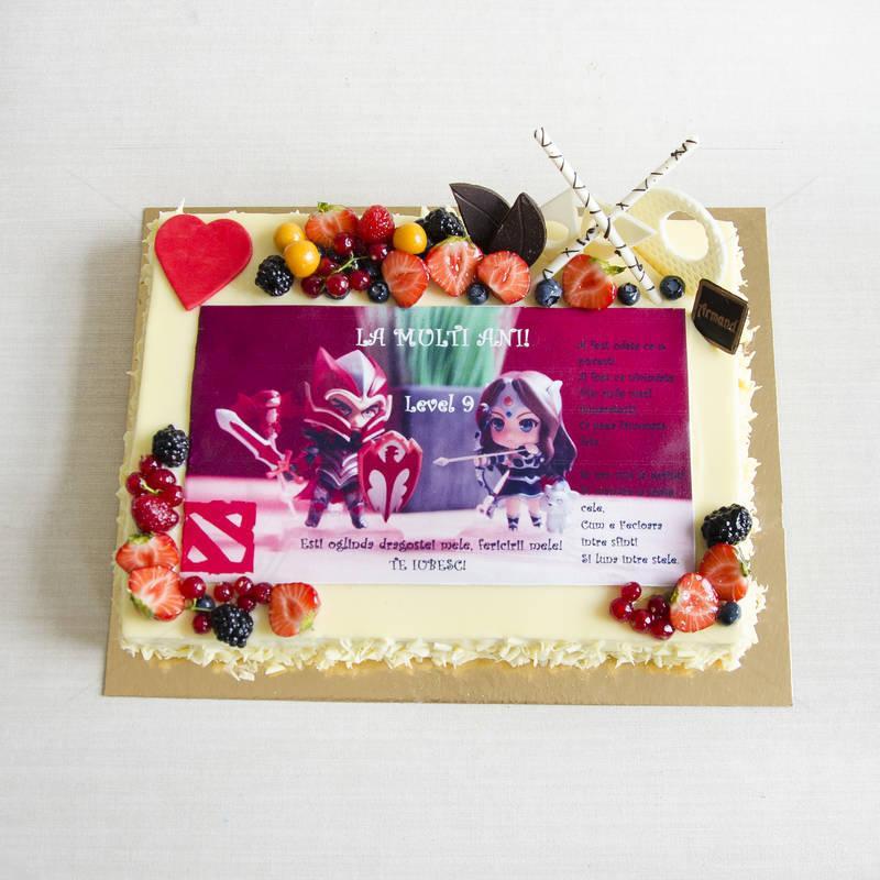 Tort Personalizat cu Poza comestibila