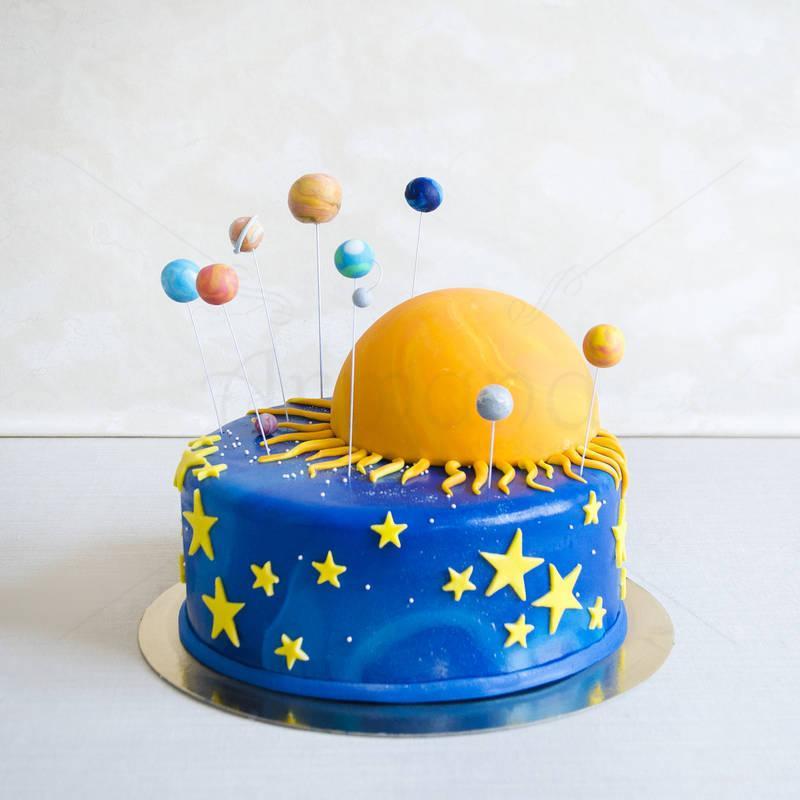Tort Sistemul Solar rotund