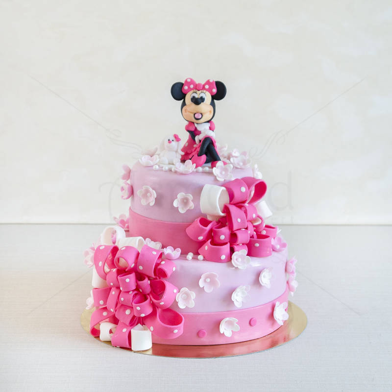 Tort Minnie Mouse funde pampon