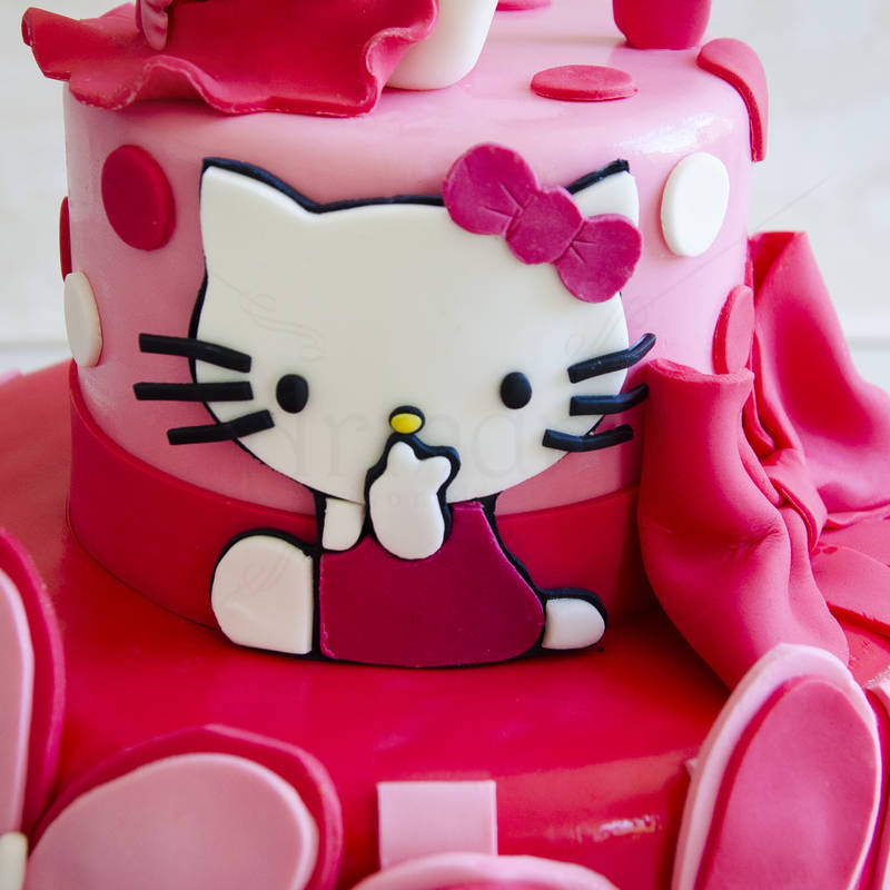 Tort Hello Kitty Fuchsia