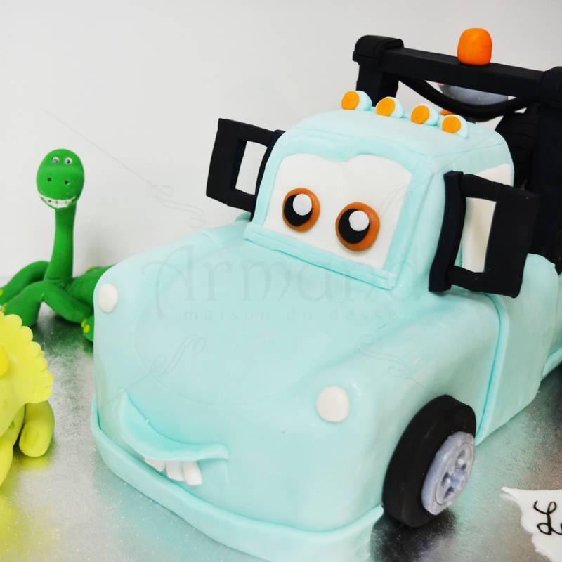 Tort Masina Mater si dinozauri