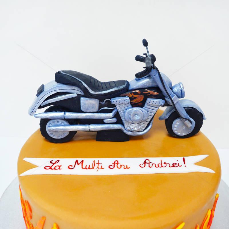 Tort Motocicleta Chopper