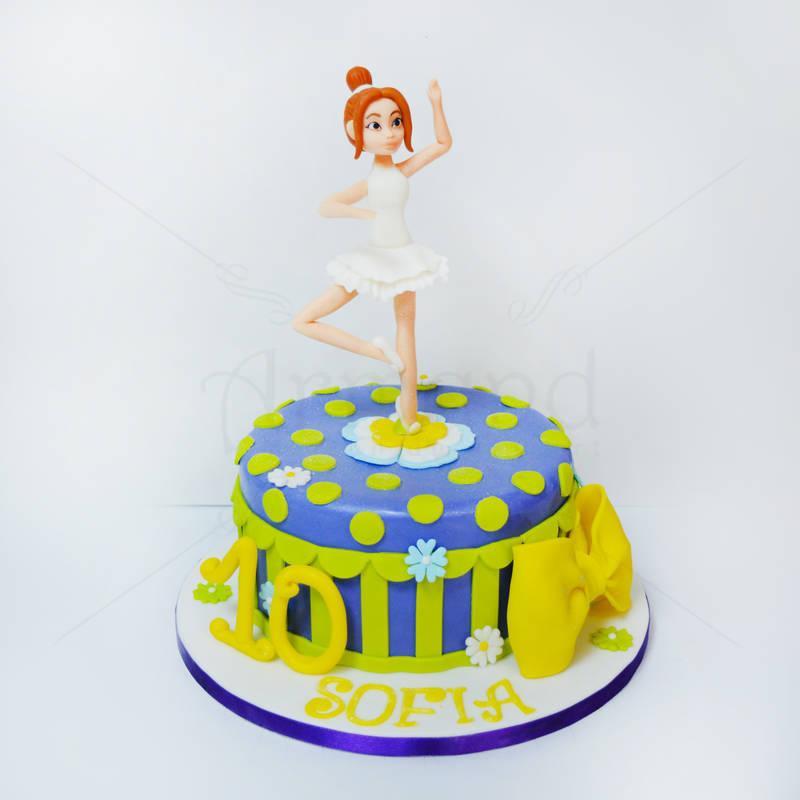 Tort Balerina eleganta