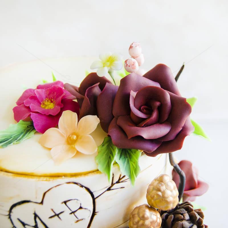Tort Scoarta copac si flori
