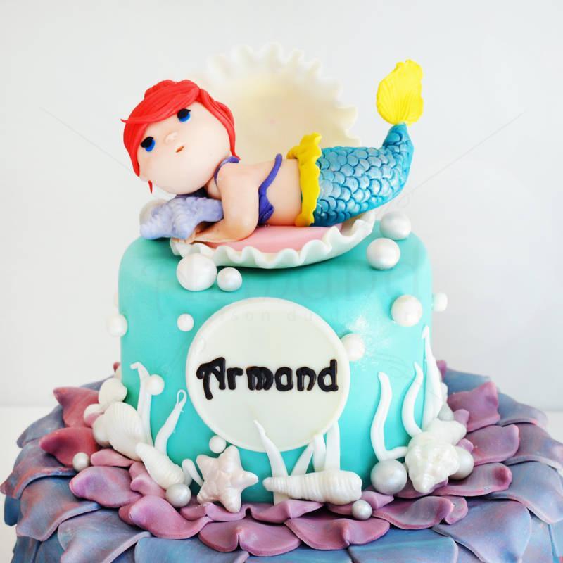 Tort Baby sirena