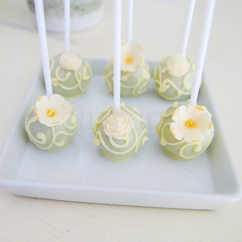 Cake pops floral