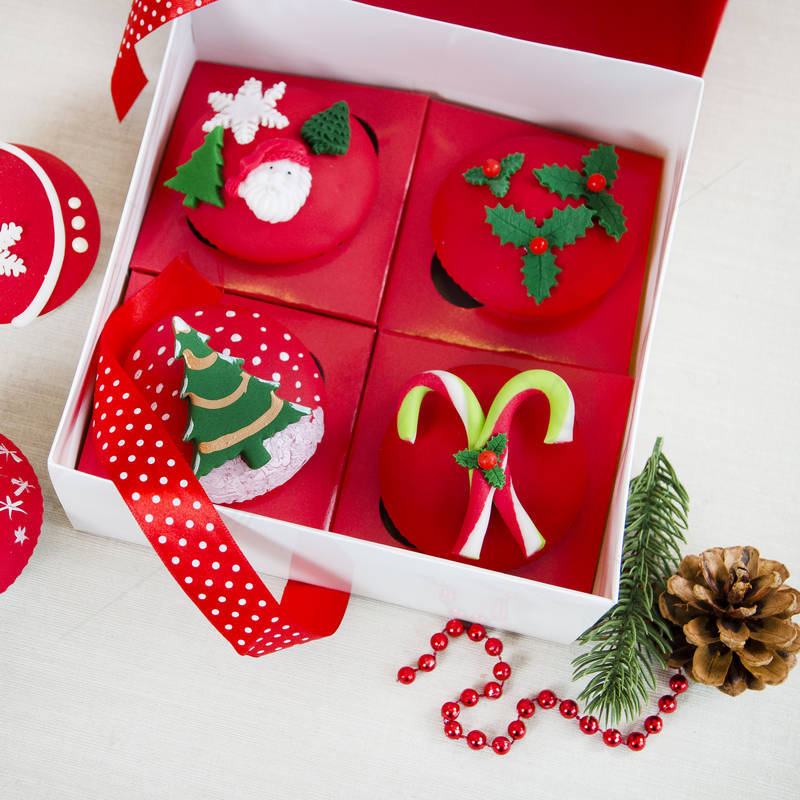 Cutie 4 Cupcakes colectia Craciun