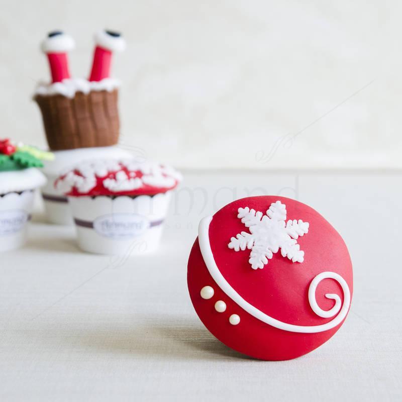 Cupcake Rosu Zapada
