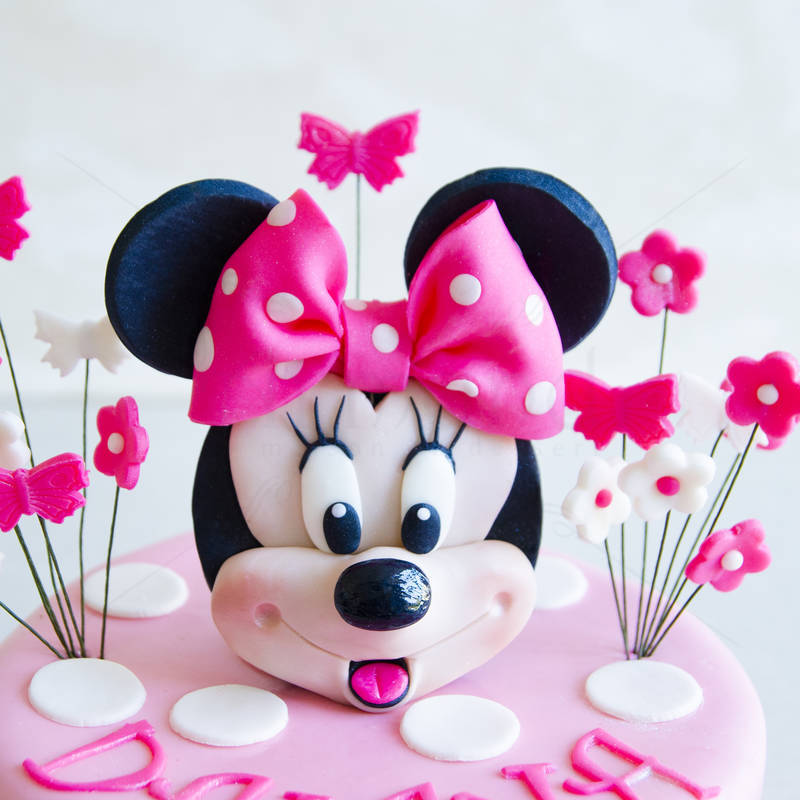 Tort Figurina Minnie Mouse