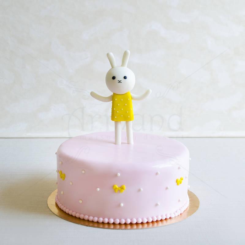 Tort fetite Iepuras Roz