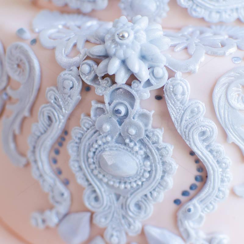 Tort nunta Bijuterii argintii