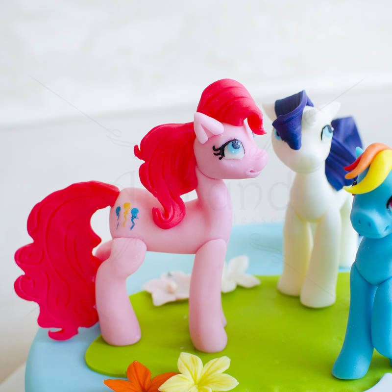 Tort Figurine Little Poney