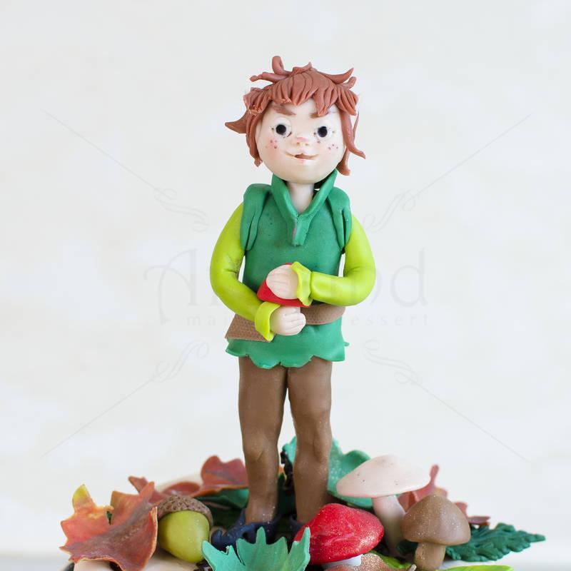 Tort Elful in padure