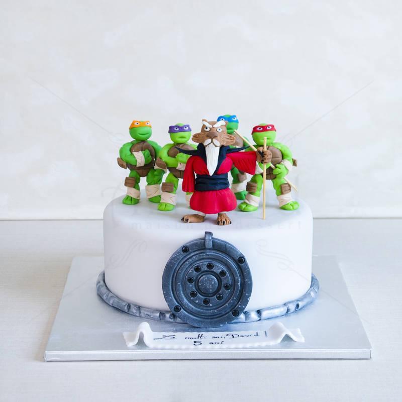 Tort Testoasele Ninja si maestrul