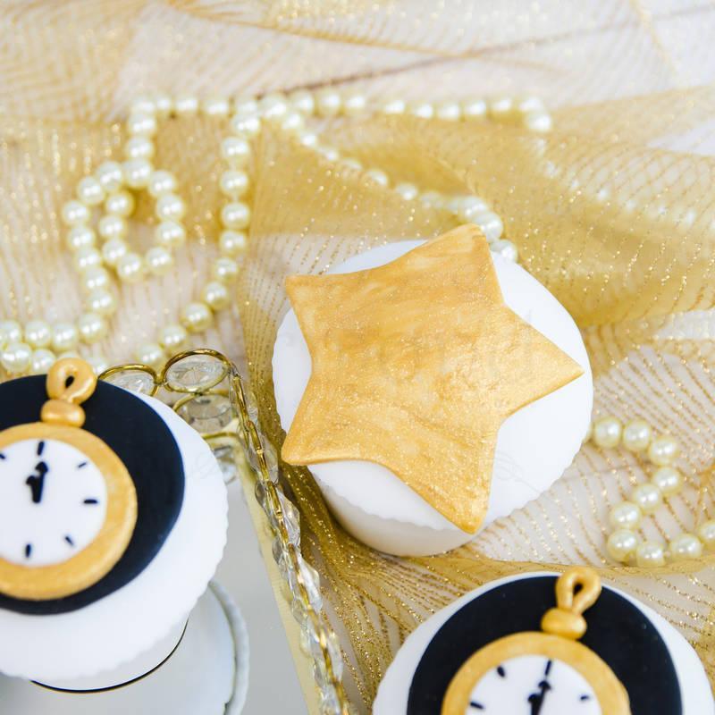 Cupcakes Stelute Revelion