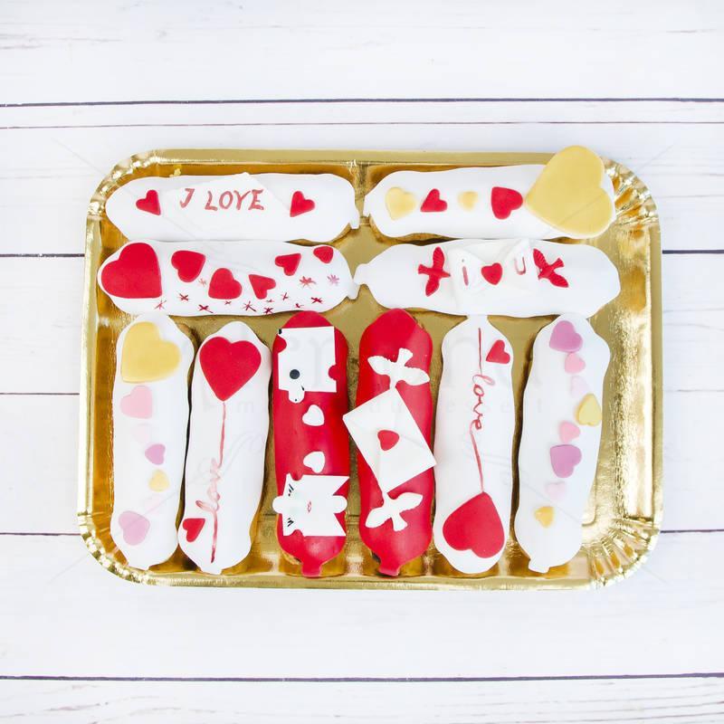 Platou Eclere personalizate Valentine s Day
