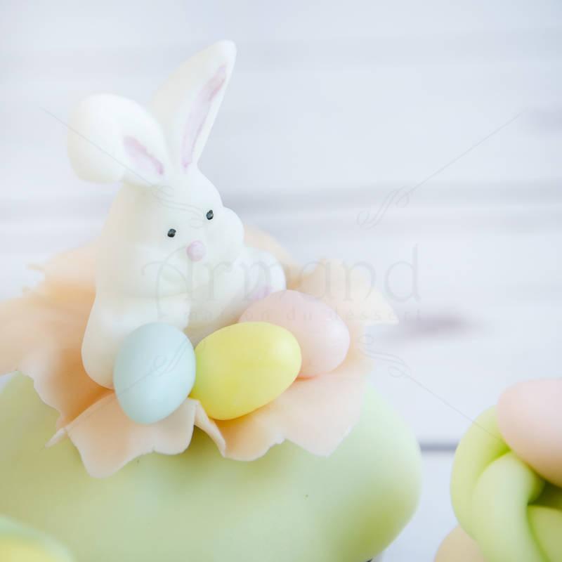 Cupcake culori pastel Iepuras Paste