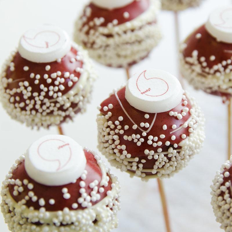 Cake Pops Logo vodafone