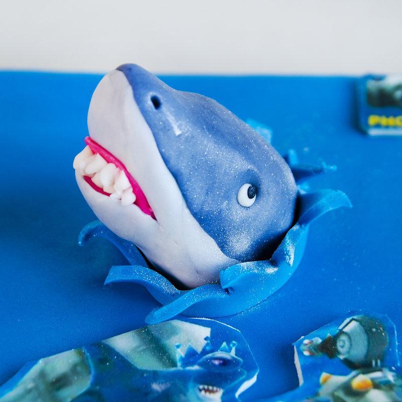 Tort Joc Angry Shark