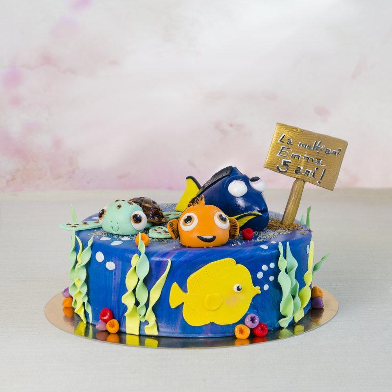 Tort pentru copii Figurine Nemo