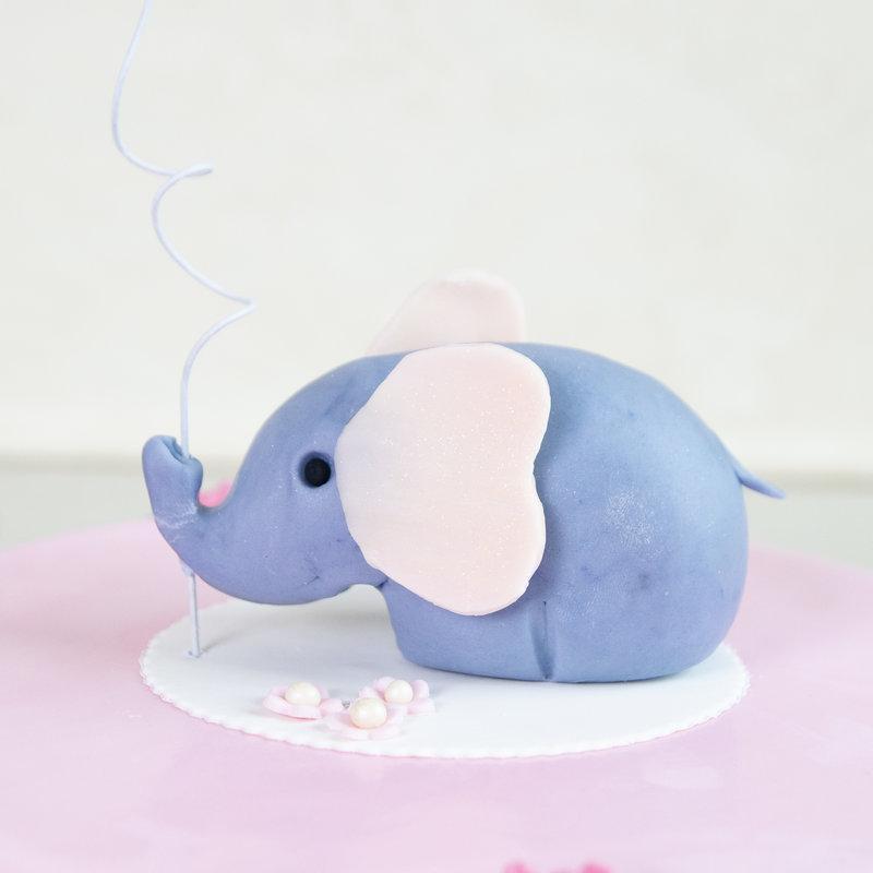 Tort pentru copil figurina Elefantel