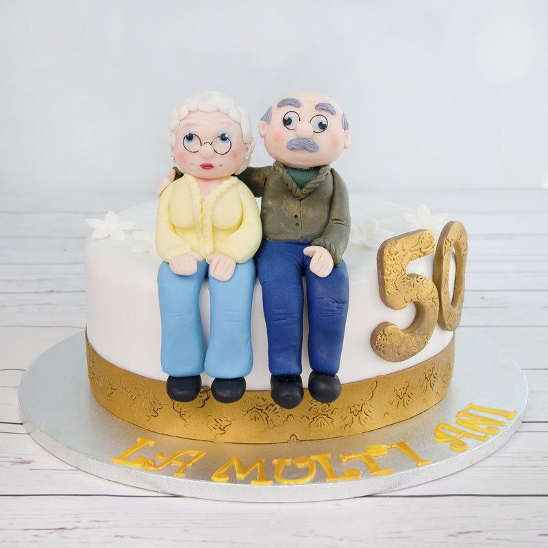 Tort Figurine Nunta de aur