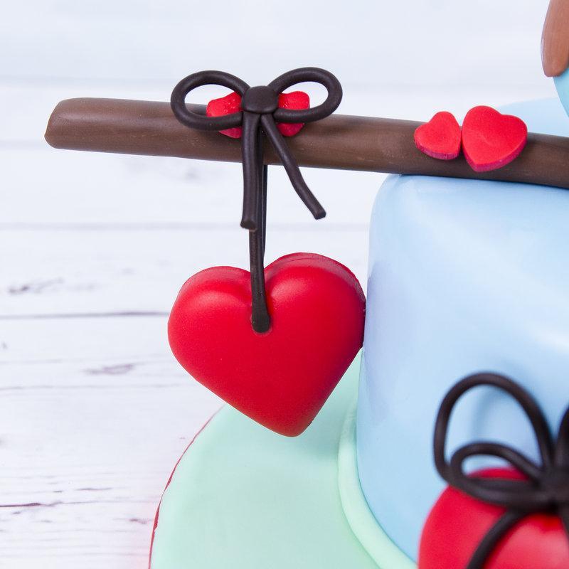 Tort Figurine Bufnite Indragostite