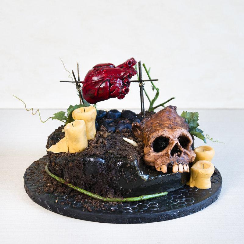 Tort Craniu Halloween
