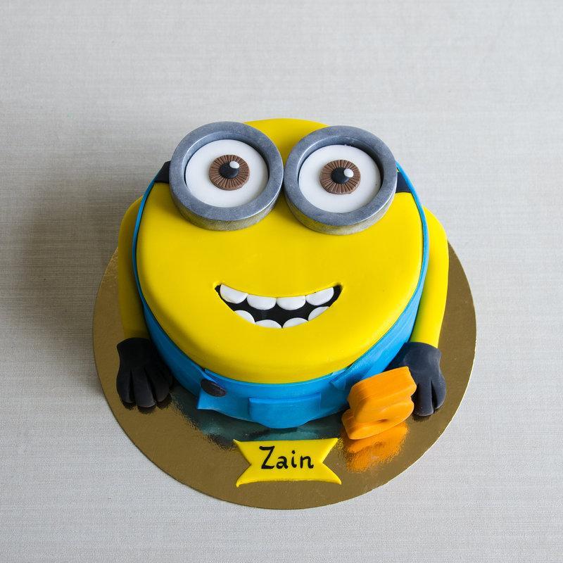 Tort Personalizat Forma Minion