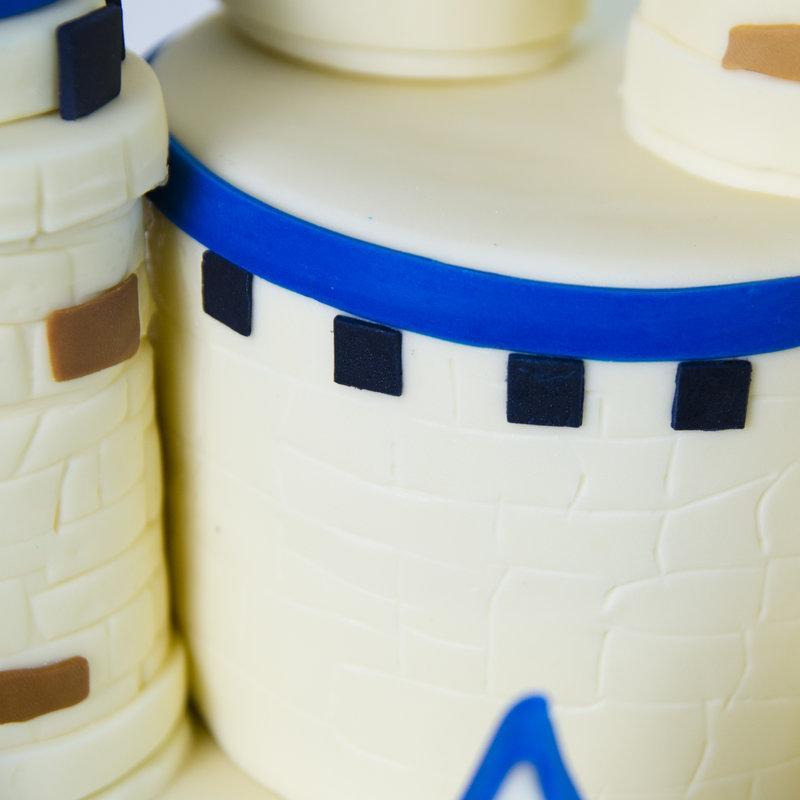 Tort Castel turnuri Albastre