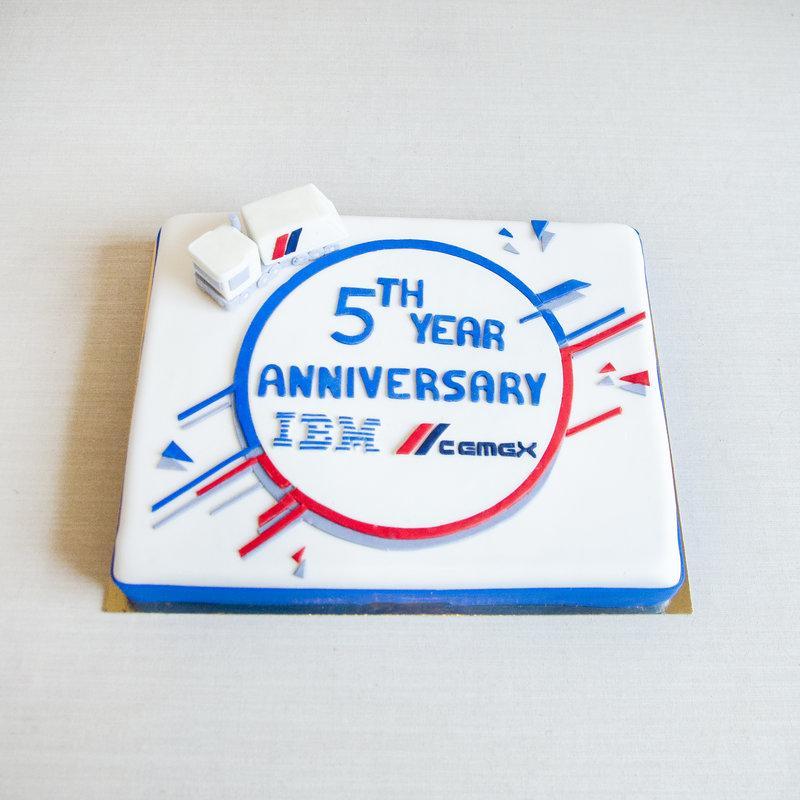 Tort Aniversar Logo IBM CEMEX