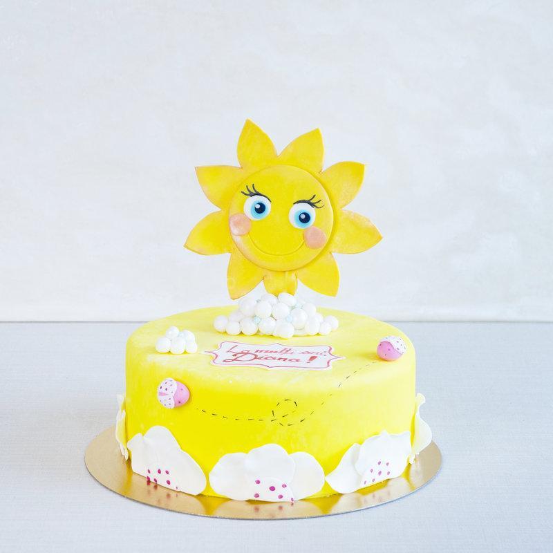 Tort Personalizat Soare Vesel