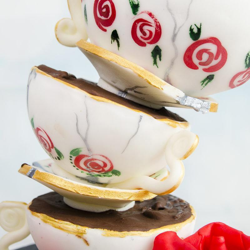 Tort Ceainic Alice in Tara Minunilor